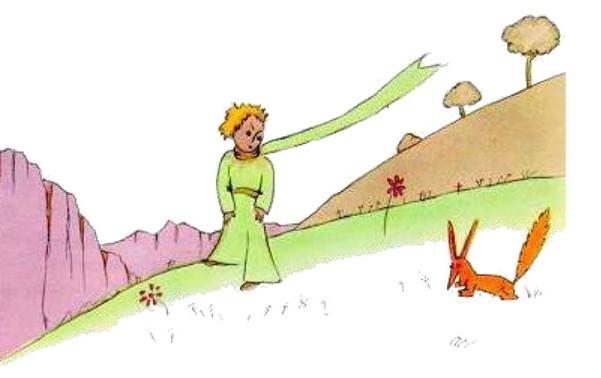la volpe e il piccolo principe